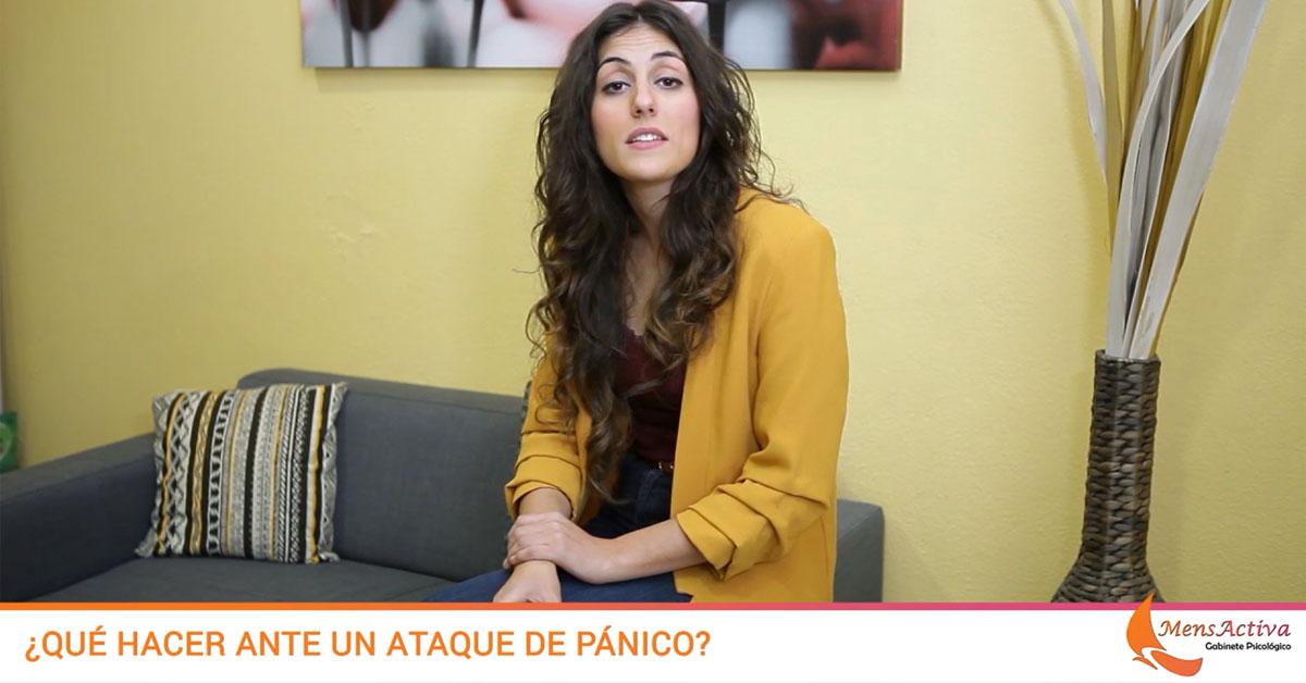 qué hacer ante un ataque de pánico
